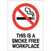 No Smoking safety sign - This Is A Smoke 041